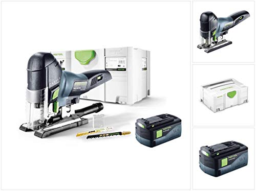 Festool PSC 420 EB Li-Basic Akku Pendelstichsäge CARVEX 18V (574713) 120mm Brushless im Systainer + 1x 5,2Ah Akku - ohne Ladegerät