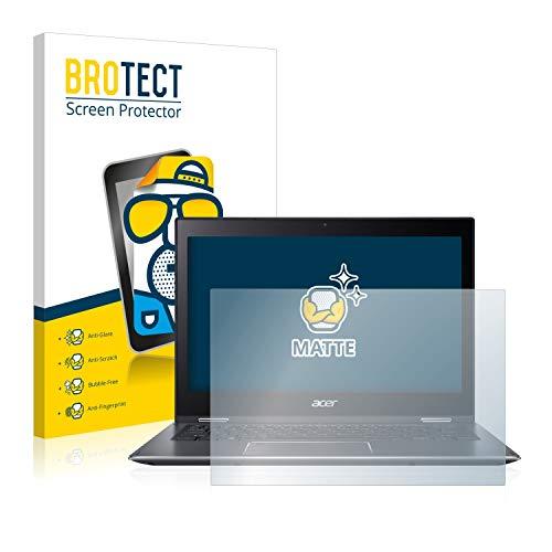BROTECT Entspiegelungs-Schutzfolie kompatibel mit Acer Spin 5 SP513-52N Bildschirmschutz-Folie Matt, Anti-Reflex, Anti-Fingerprint