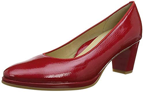 ara ORLY 1213436, Damen Pumps, Rot (Rosso 17), 38 EU(5 UK)