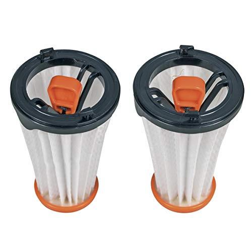 2 x Austauschfilter Lamellenfilter Filter Zylinderfilter AEF144 innen Staubsauger ORIGINAL Electrolux AEG 9001671537