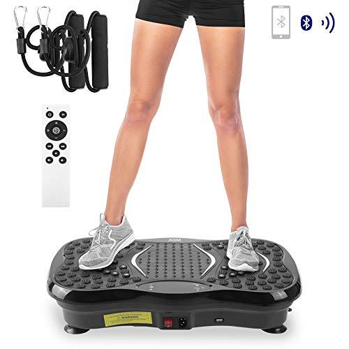 Plataforma vibrante oscilante, plataforma de vibración 3D, accesorio de fitness, dispositivo de masaje para pérdida de peso rápido, 150 kg,