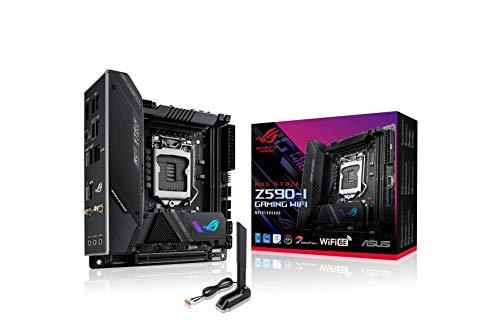 ASUS INTEL Z590 搭載 第10世代・11世代 CPU 対応 LGA 1200 対応 マザーボード ROG STRIX Z590-I GAMING WIFI 【Mini-ITX】 【国内正規代理店】