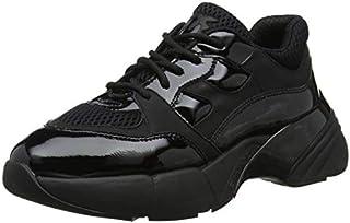 Pinko 女士 Rubino 运动鞋 Rete Tecnica Gommato 一脚蹬运动鞋