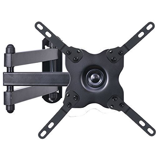 "VideoSecu TV Wall Mount Monitor Bracket with Full Motion Articulating Tilt Arm 15"" Extension for Most 27"" 30"" 32"" 35"" 37"" 39"" 40"" LCD LED TVs with VESA 200x200 ML14B WS2"