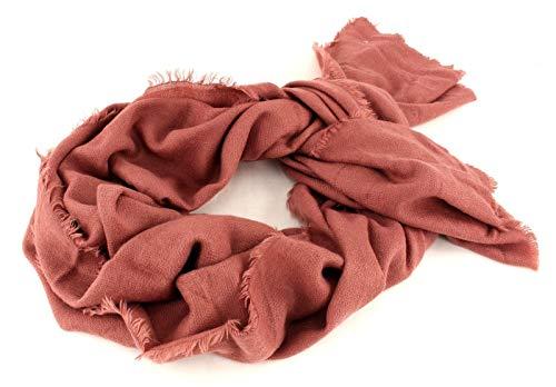 ESPRIT Solid Cozy Scarf Dark Old Pink