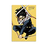 Anime Poster My Hero Academia Eraserhead SHOTA AIZAWA Canvas Art Poster and Wall Art Picture Print Modern Family Bedroom Decor Posters 08x12inch(20x30cm)
