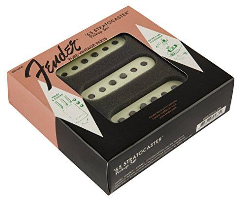Fender 099-2237-000 Juego de pastillas Pure Vintage '65 Stratocaster - Vintage White