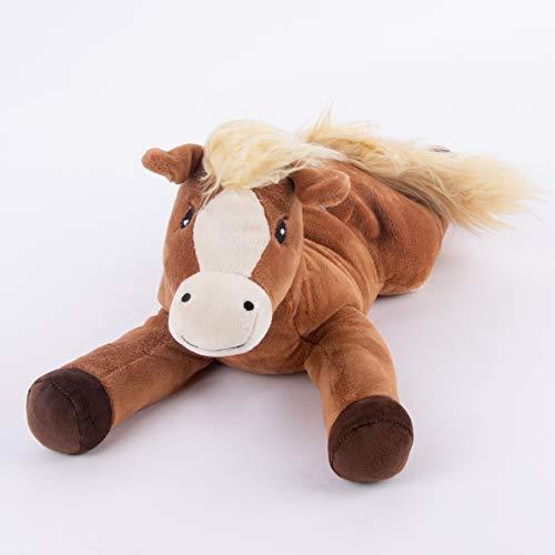 Warmies® Wärmekissen/Stofftier Pony Hirse Lavendelfüllung 40cm 700g