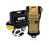 DYMO Industrial Label Maker & Carry Case | RhinoPRO 5200 Label Maker, For Job Sites and Heavy-Duty Labeling Jobs, Prints Fast, Includes 2 Rolls of DYMO Industrial Vinyl Labels