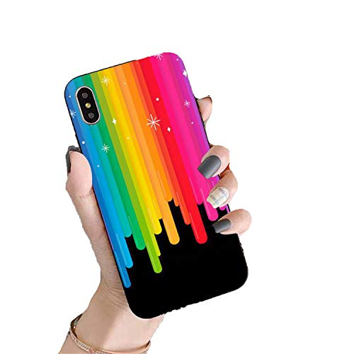 Gay Lesbian Rainbow Pride Soft Black Phone Case for iPhone 11 Pro SE 2020 Cover a11 for iPhone 11
