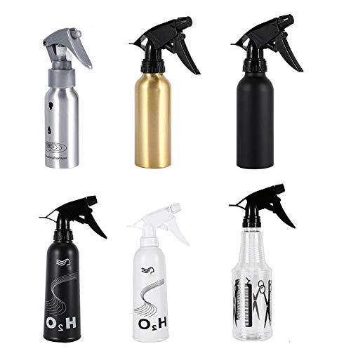 Spray Botella vacía Spray Botella Botella Vacía Productos de Estilo Planta Agua 6 Tipos Peluquería Flores