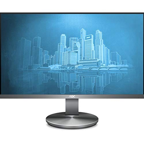 AOC Monitores I2490VXQ/BT - Pantalla para PC de 23.8' (resolución 1920 x 1080 Pixels, tecnología FlickerFree y LowBlue, Contraste 1000:1, 4 ms, HDMI, Displayport)