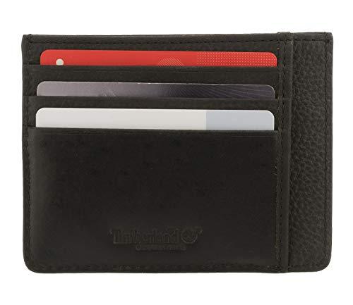 Timberland 8218 - Estuche para tarjetas de crédito, color negro