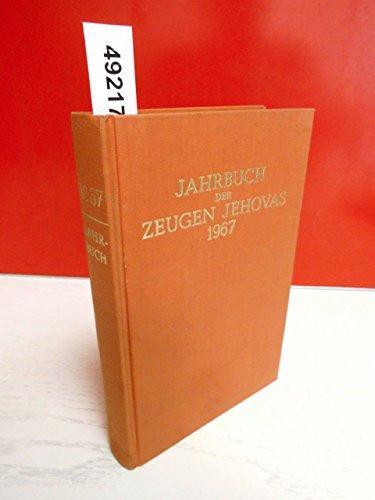 Jahrbuch der Zeugen Jehovas 1967 mit dem Bericht über das Dienstjahr 1966, ferner mit Tagestexten und Kommentaren.