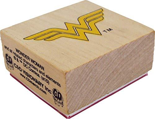 Rubber Stamp - Wonder Woman Logo