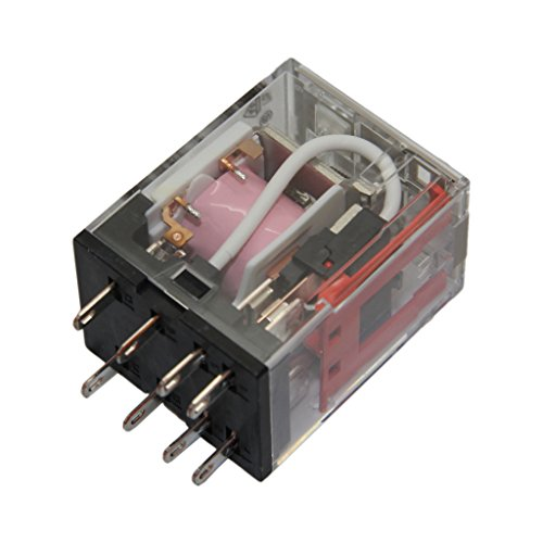 MY2–12DC Relay Electromagnetic DPDT ucoil12vdc 10A/220VAC 10A/24VDC my212vdc (S)