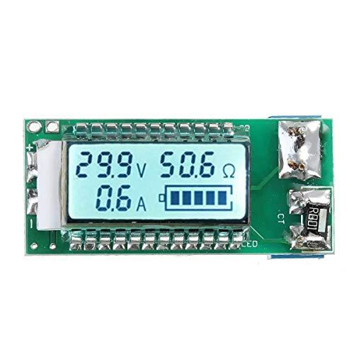 Yongenee 26650 18650 de Litio Li-Ion Capacidad de la batería probador LCD Medidor de Tensión Corriente módulo de medición