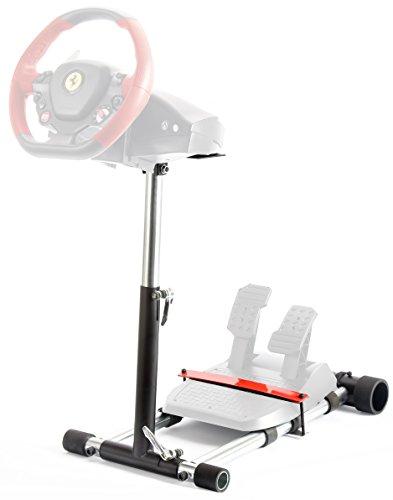 Wheel Stand Pro, Lenkradständer & Pedale für Thrustmaster Spider, T80 / T100, T150, F458 / F430, schwarz