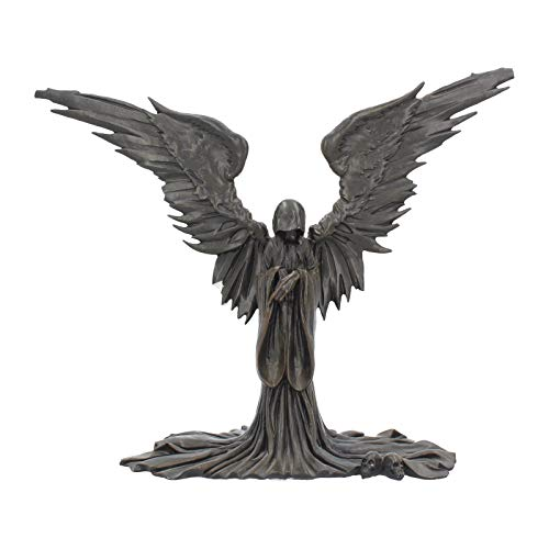 Nemesis Now Engel des Todes Figur 23cm schwarz