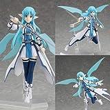 AMrjzr Juguete figma 174178248289 Sword Art Online Asuna Kirito Kiriko-1 Style-15CM...