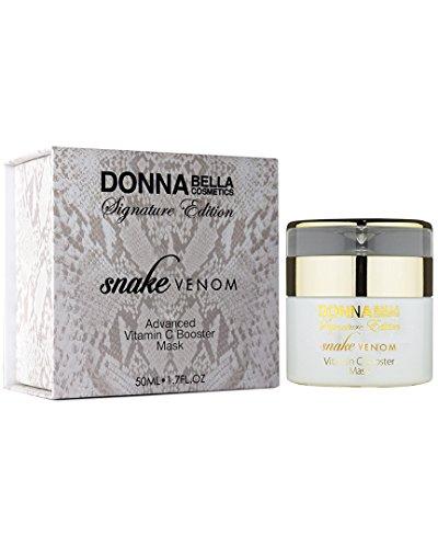 Donna Bella Cosmetics - Masque de renfort avancé de vitamine C de venin de serpent