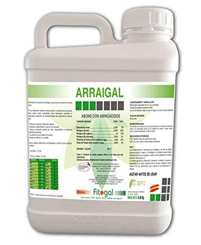 Fitogal ARRAIGAL Potente Enraizante y activador Bioestimulante. Agricultura Ecológica Envase 1L. Profesional Apto para jardinería domestica