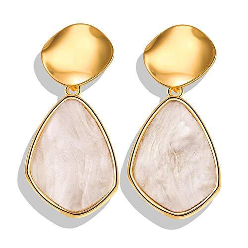 Collar Sea Shell Collares Pendientes para Mujeres Moda Metal Shell Cowrie Gargantilla Collares Nueva Summer Beach Jewelry La19052904A4