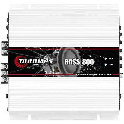 Módulo Taramps BASS 800 2 ohms 800 W RMS Amplificador Som Automotivo
