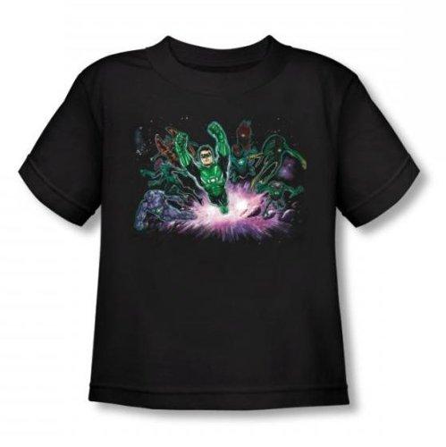 Green Lantern - - Diriger les tout-petits Way T-shirt In Black, 2T, Black