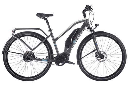 Brinke Bicicletta Elettrica Rushmore Evo DI2 Comfort Cambio Automatico (Grigio, S)