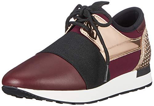 Pollini Damen Running Time Sneaker, Violett (Burgundy/Quartz 55A), 40 EU