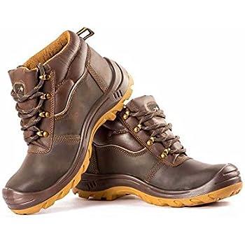 WORKSTAR Hillson Brown Leather Men's