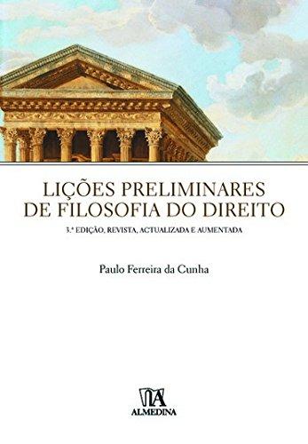 Lições Preliminares de Filosofia do Direito