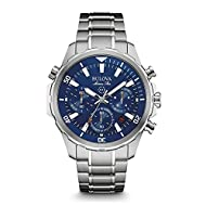Bulova is renowned for their legacy of industry innovations and a history of firsts, since 1875 All Bulova watches are made to the highest standards, including marine grade 316L nickel safe stainless steel. Comes with a 3 Year Bulova UK warranty. Qua...