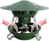 SSCYHT Ventilador De Chimenea para Conducto de Humos Redondo 20 Cm 200 Mm Ventilador de Escape de Chimenea Inductor de Tiro de Chimenea Ventilador de Escape de Chimenea Chimenea