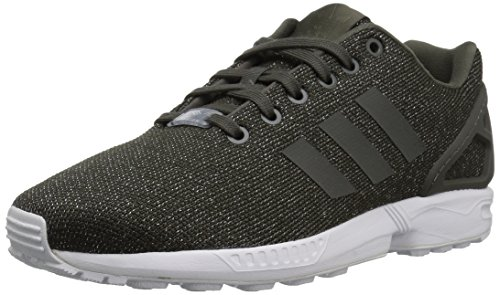 adidas Originals Damen ZX Flux W Turnschuh, Utility Grey/Utility Black/Silver Metallic, 37.5 EU