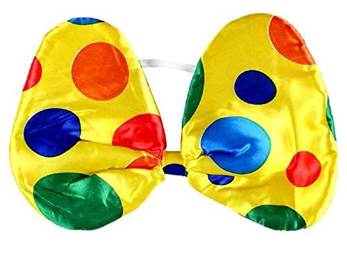 KIRALOVE Pajarita - Pajarita - Payaso - Disfraz - Carnaval - Halloween - Cosplay - Accesorios - Hombre - Mujer - niño Clown Papillon Cosplay