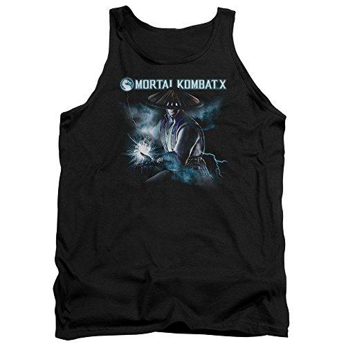 Mortal Kombat - - Débardeur Raiden pour hommes, Large, Black