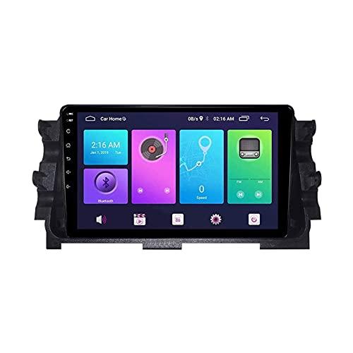 Multimedia Estéreo para Nissan Micra 2017 Coche Sat Nav GPS Reproductor Música Audio Receptor Radio con Espejo Pantalla Táctil Controles De Volante Controls SWC TELÉFONO,8 Core 4g+WiFi: 2+32gb