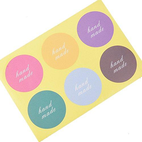 Pegatinas hechas a mano etiquetas de embalaje etiquetas de regalo etiquetas materiales de envoltura