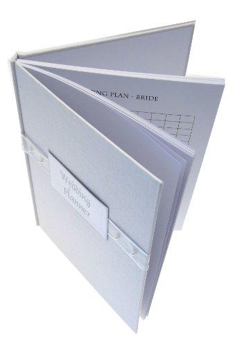 White Cotton Cards - Agenda wedding planner, colore perlato (lingua inglese)