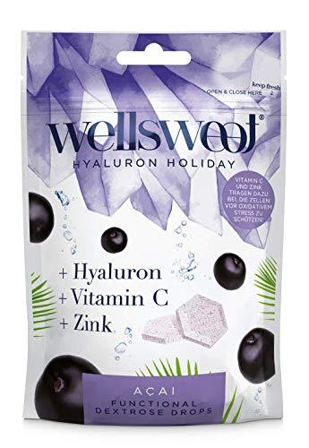 Hyaluron Holiday mit Acai - Die neue Generation Traubenzucker mit Hyaloron, bekannt aus hochwertigen Kosmetika, für...