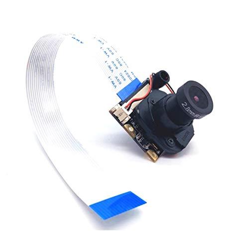 Raspberry Pi 3 B Camera 5MP Webcam 1080p Sensor OV5647 with IR-Cut Camera Automatic Switching Day/Night Vision Video for Raspberry Pi Model A/B/B+, RPi 2B Pi 3 B+ and Pi 4B