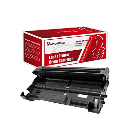 Awesometoner Compatible Drum Cartridge Replacement for Dell E310 ?593-BBKE? use with Laser Printer E310dw, E514dw, E515dn, E515dw (Black, 1-pack)