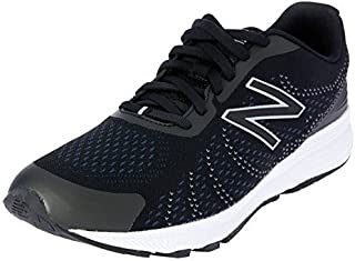 New Balance Boys' Rush V3 Road Running Shoe Black/Grey 7 Wide US Little Kid [並行輸入品]
