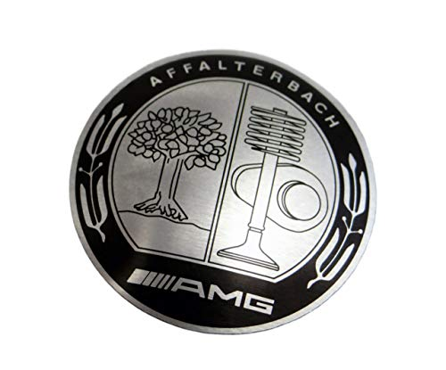 AMG Affalterbach Style Logo – Shift Knob Emblem – Badge for Gear Shifter knob – for Mercedes-Benz Vehicles – 1 pc – Diameter 1 7/64 inch - 2,8 cm