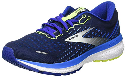 Brooks Ghost 13, Scarpe da Corsa Uomo, Peacoat/Indigo/Nightlife, 44 EU