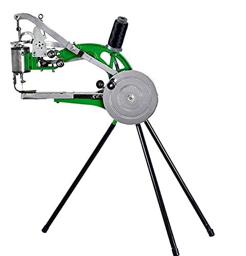 DCHOUSE Handmaschine Schuster Leder Nähmaschine – Schuhflick Nähmaschine für manuelles Nähen von Doppelte Baumwolle Nylon Linien