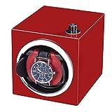 ZHFF Enrollador de Reloj, Mini Caja de Motor portátil roja...