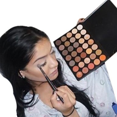 RY@ 28 Palette de Fard à Paupières Sec Fard à paupières palette Poudre NormalMaquillage Quotidien / Maquillage de Fée / Maquillage Œil de